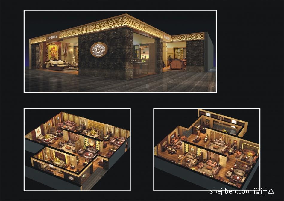 整体造型购物空间其他设计图片赏析