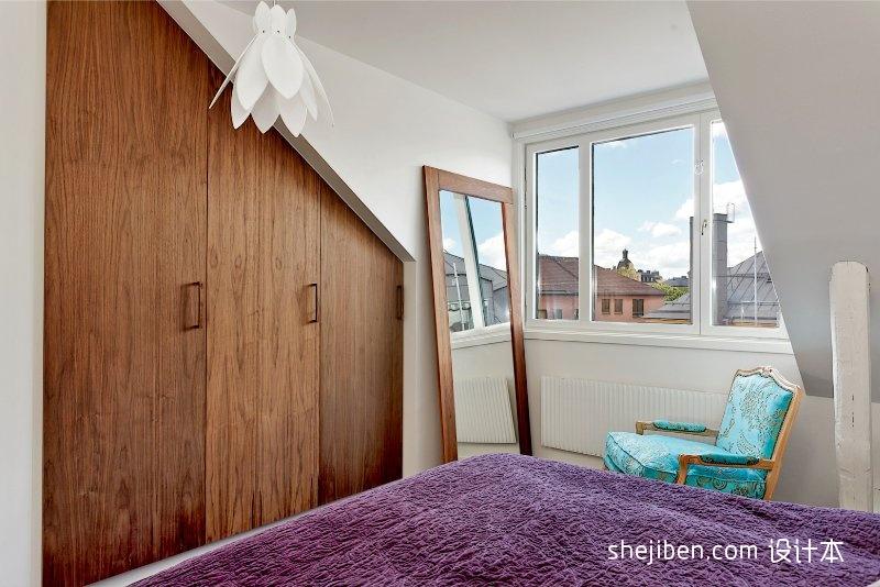明亮72平混搭二居卧室设计美图卧室潮流混搭卧室设计图片赏析