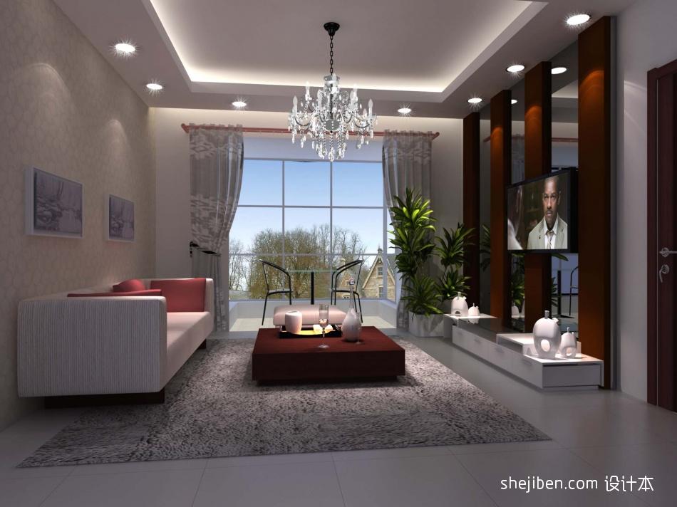 质朴36平混搭小户型客厅实拍图客厅潮流混搭客厅设计图片赏析