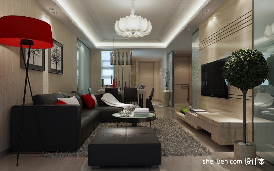 温馨104平混搭三居客厅效果图客厅潮流混搭客厅设计图片赏析