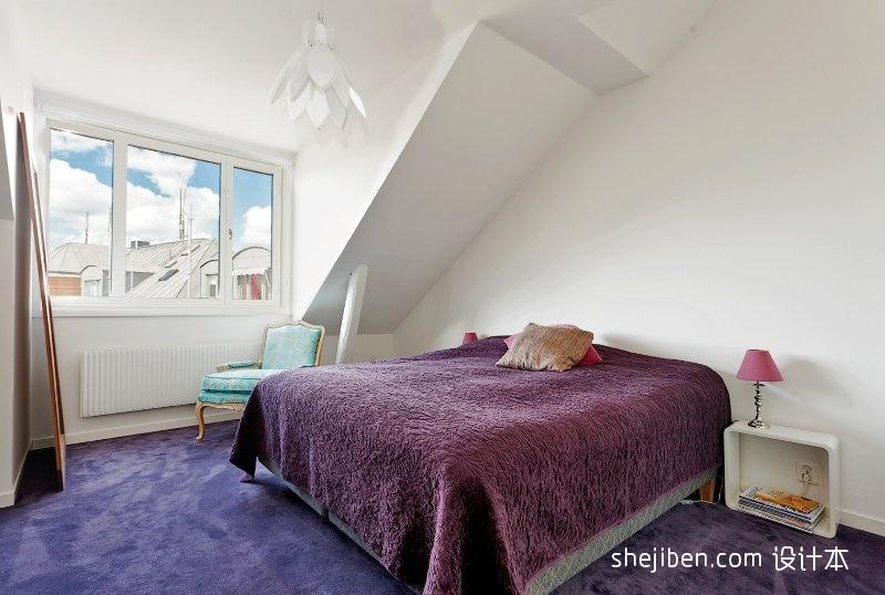 热门大小82平混搭二居卧室实景图片卧室潮流混搭卧室设计图片赏析
