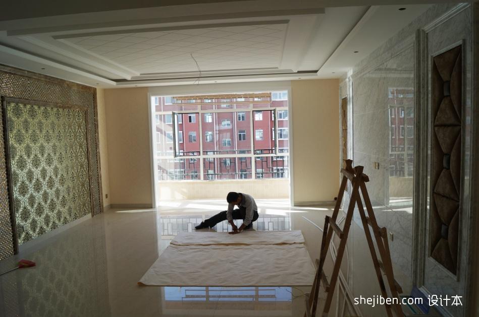 热门109平三居混搭装修图片客厅潮流混搭客厅设计图片赏析