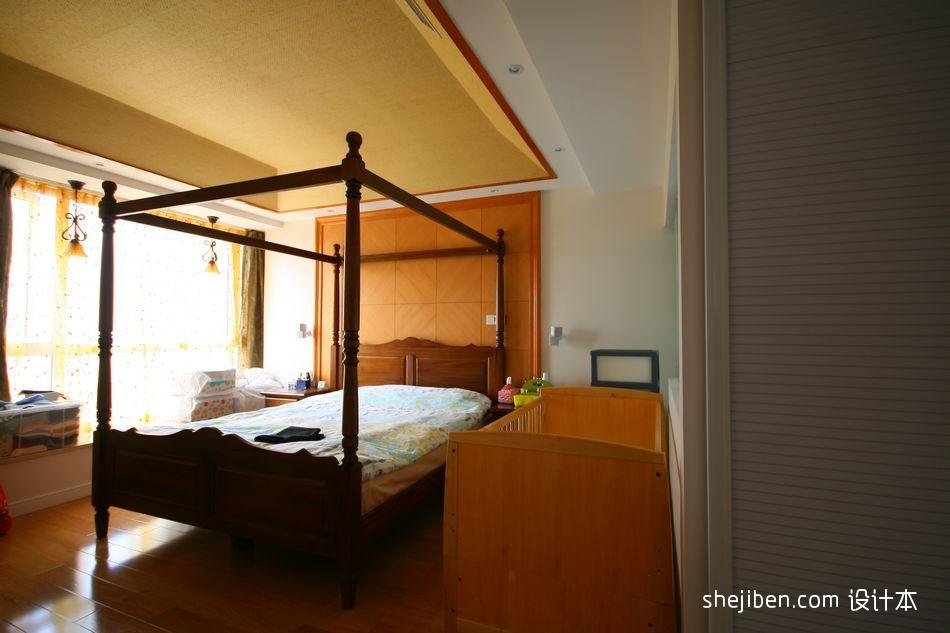 精选92平米三居卧室现代装修图片大全卧室现代简约卧室设计图片赏析