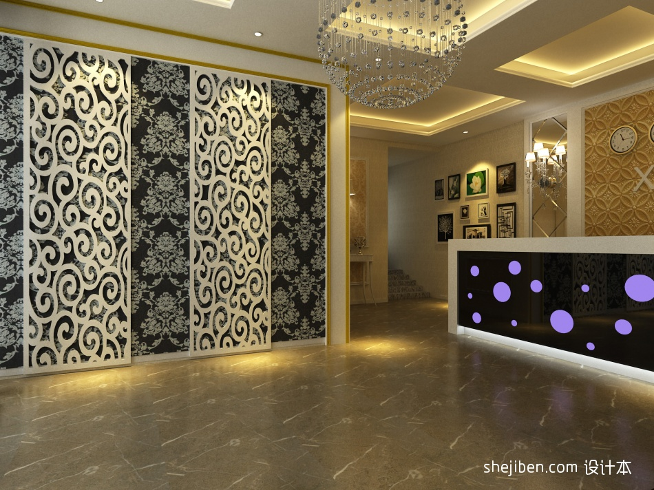 酒店大厅酒店空间设计图片赏析