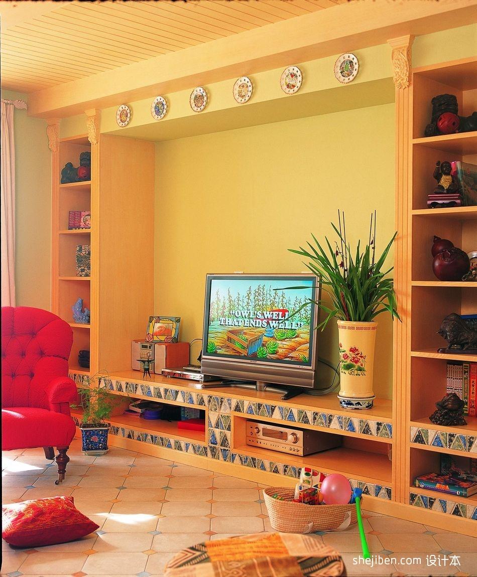 精选109平米三居客厅田园装修效果图片大全客厅美式田园客厅设计图片赏析