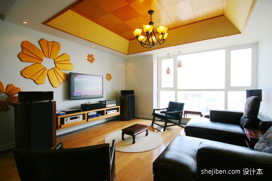 精选面积91平现代三居客厅设计效果图客厅现代简约客厅设计图片赏析