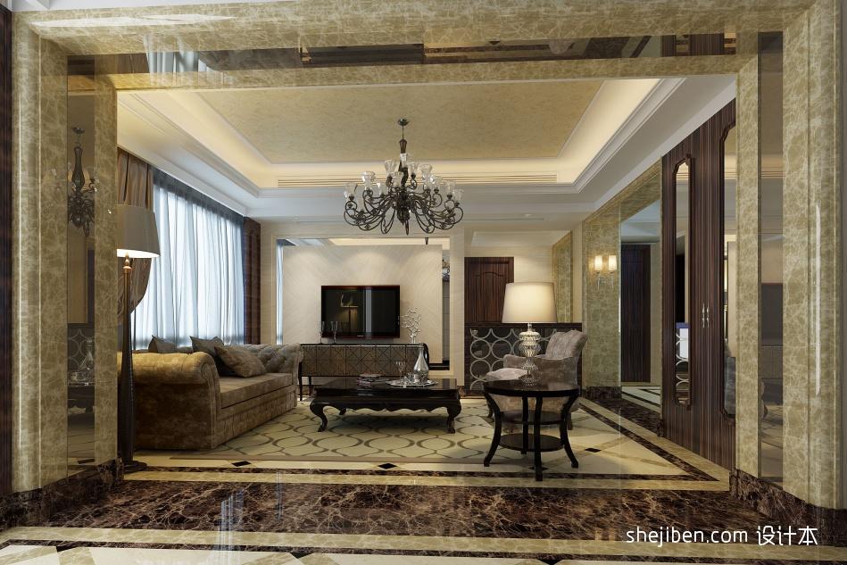 热门122平米混搭复式客厅欣赏图客厅潮流混搭客厅设计图片赏析