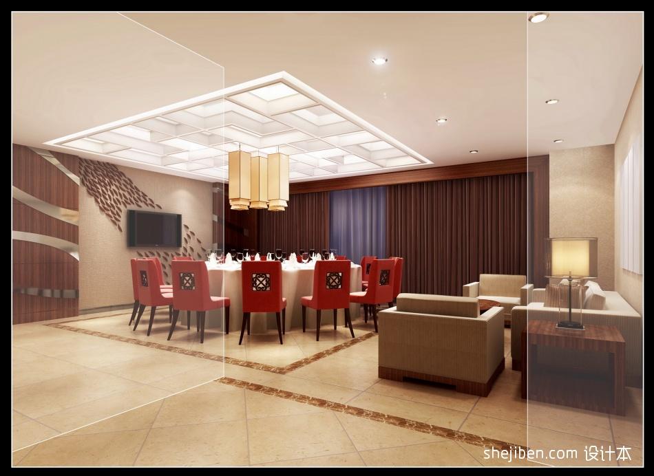 方案效果展示包厢空间餐饮空间其他设计图片赏析