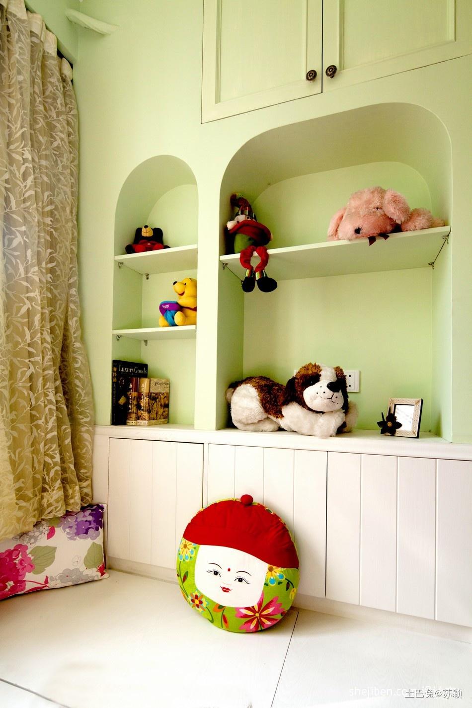 儿童房飘窗装修效果图片潮流混搭设计图片赏析