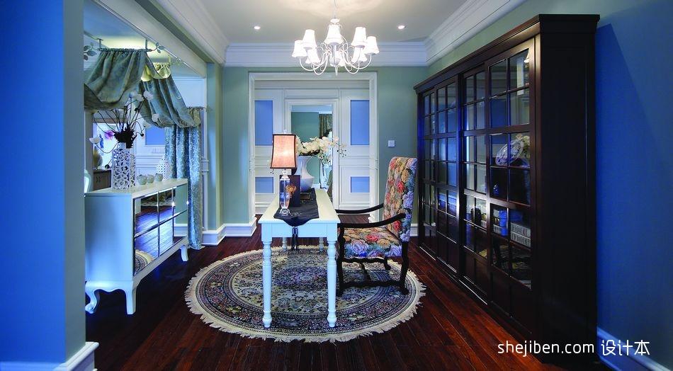 新古典风格开放式豪华书房装修效果图其他设计图片赏析