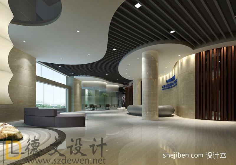 一层大厅2办公空间设计图片赏析
