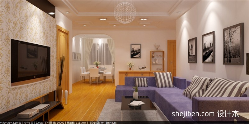 简洁113平混搭三居客厅美图客厅潮流混搭客厅设计图片赏析