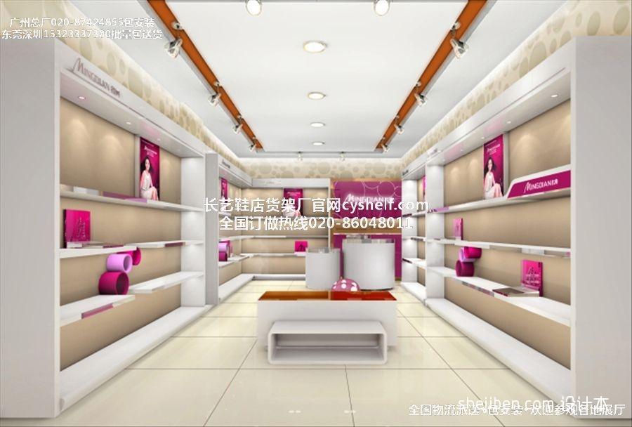 广州鞋店展示柜厂最新鞋店装修设计图商业展示设计图片赏析