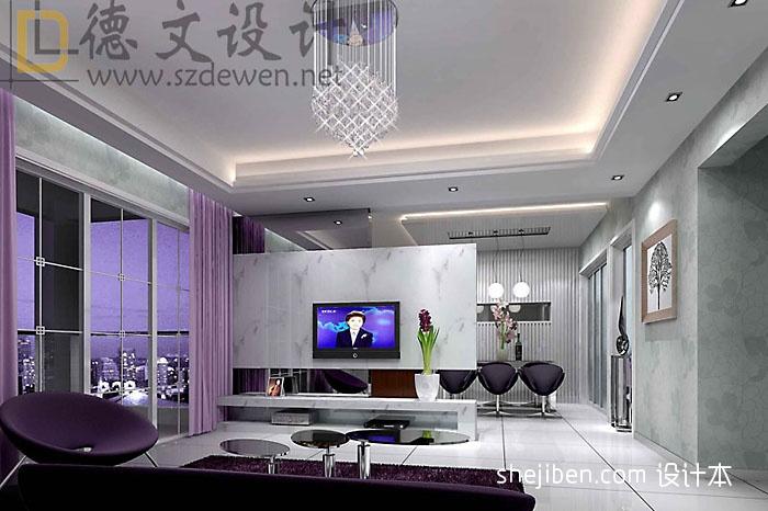 淡雅清新型客厅客厅潮流混搭客厅设计图片赏析