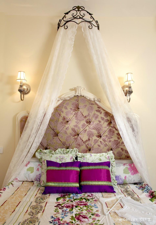 精美94平米三居卧室混搭装修设计效果图片卧室潮流混搭卧室设计图片赏析