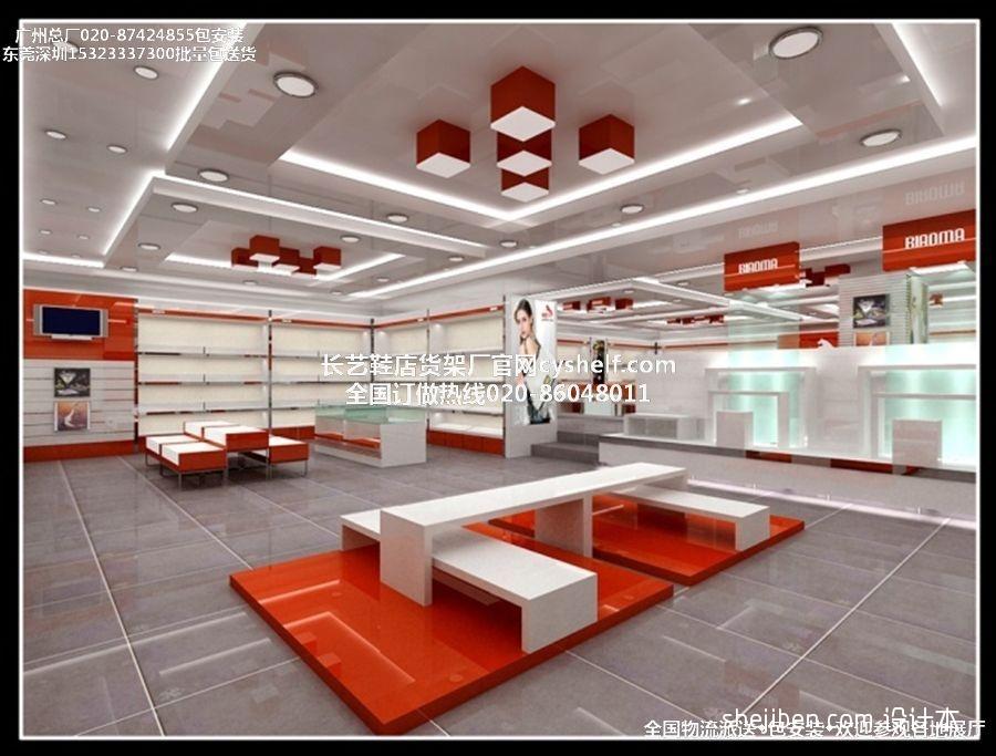 最新鞋店装修设计图商业展示设计图片赏析
