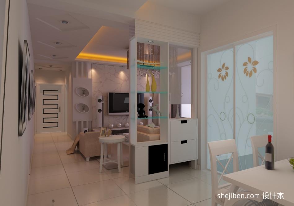 明亮82平混搭三居客厅装修装饰图客厅潮流混搭客厅设计图片赏析