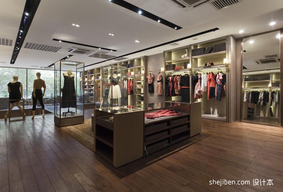 时尚服装店铺装修效果图片设计图片赏析