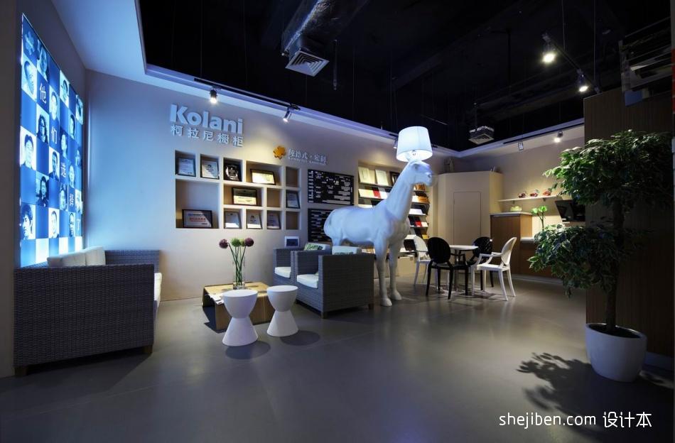 深圳橱柜专卖店14购物空间设计图片赏析