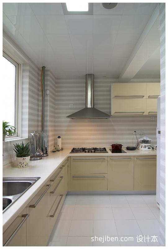 精选中式三居厨房装修欣赏图餐厅中式现代厨房设计图片赏析
