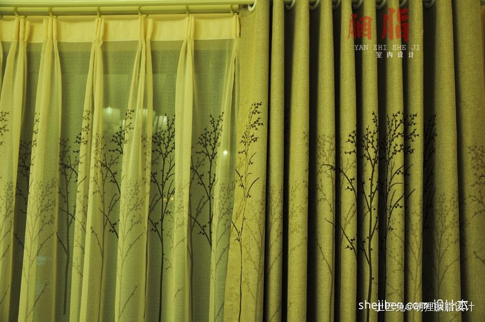 广州胭脂设计现代简约风格秋月如风客厅潮流混搭客厅设计图片赏析