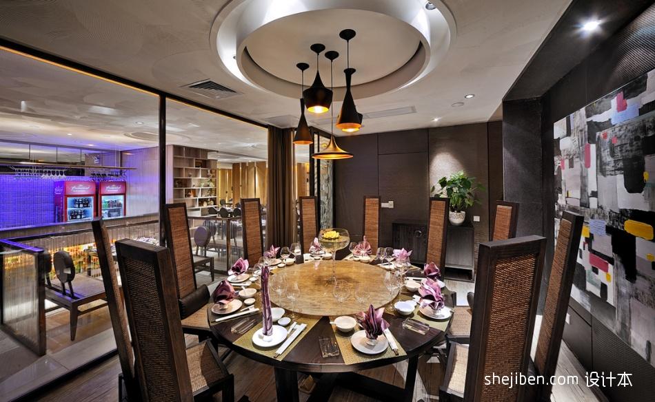 海联汇写意时尚新东方餐饮空间其他设计图片赏析