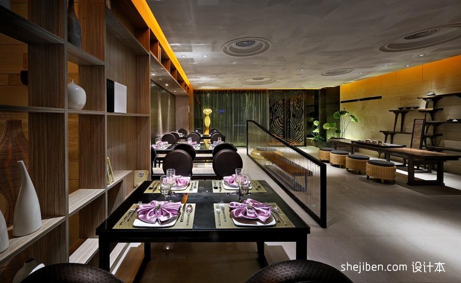 混搭饭店大厅吊顶造型效果图餐饮空间其他设计图片赏析