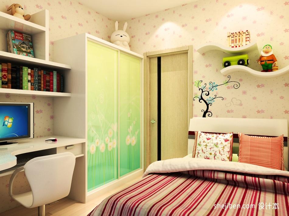 华丽113平混搭三居卧室设计效果图卧室潮流混搭卧室设计图片赏析
