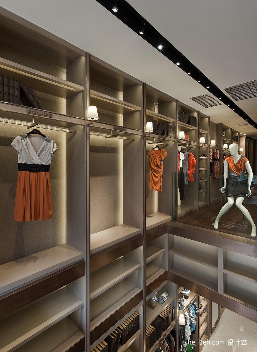 女服装店简装修效果图设计图片赏析