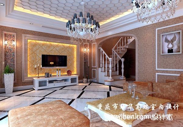 热门140平方混搭别墅客厅效果图客厅潮流混搭客厅设计图片赏析