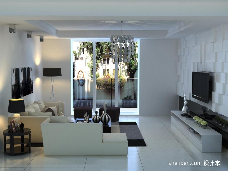 平米3室客厅混搭效果图片大全客厅潮流混搭客厅设计图片赏析