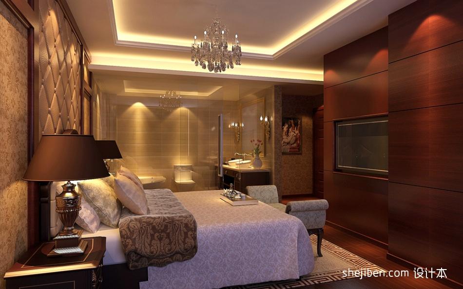 精选116平米混搭别墅卧室装修设计效果图片欣赏卧室潮流混搭卧室设计图片赏析
