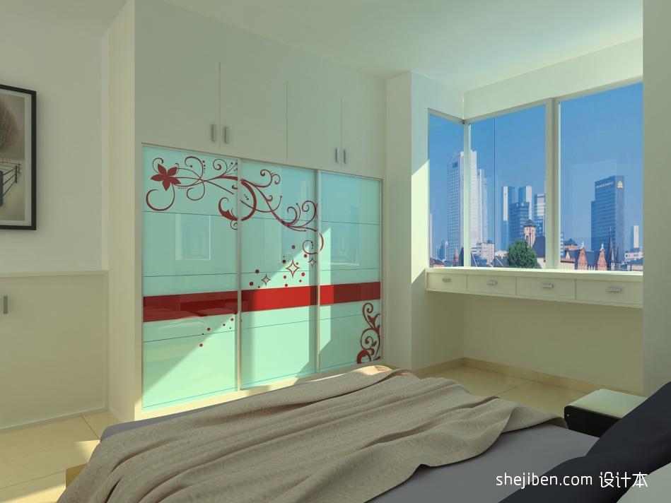 优美110平混搭三居卧室装修设计图卧室潮流混搭卧室设计图片赏析