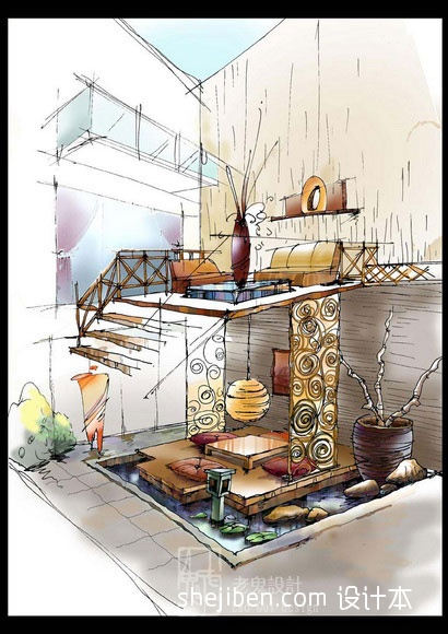 大气642平混搭别墅客厅装修图客厅潮流混搭客厅设计图片赏析