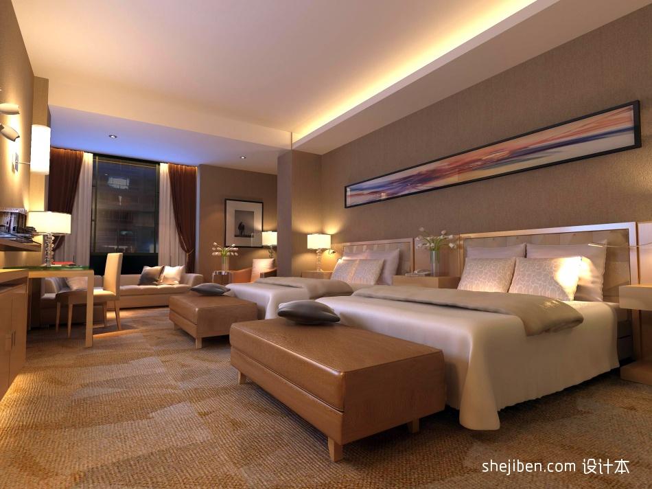 酒店标间酒店空间其他设计图片赏析