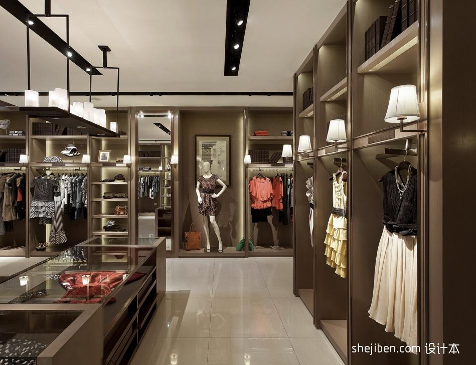 服装店面装修设计效果图大全设计图片赏析