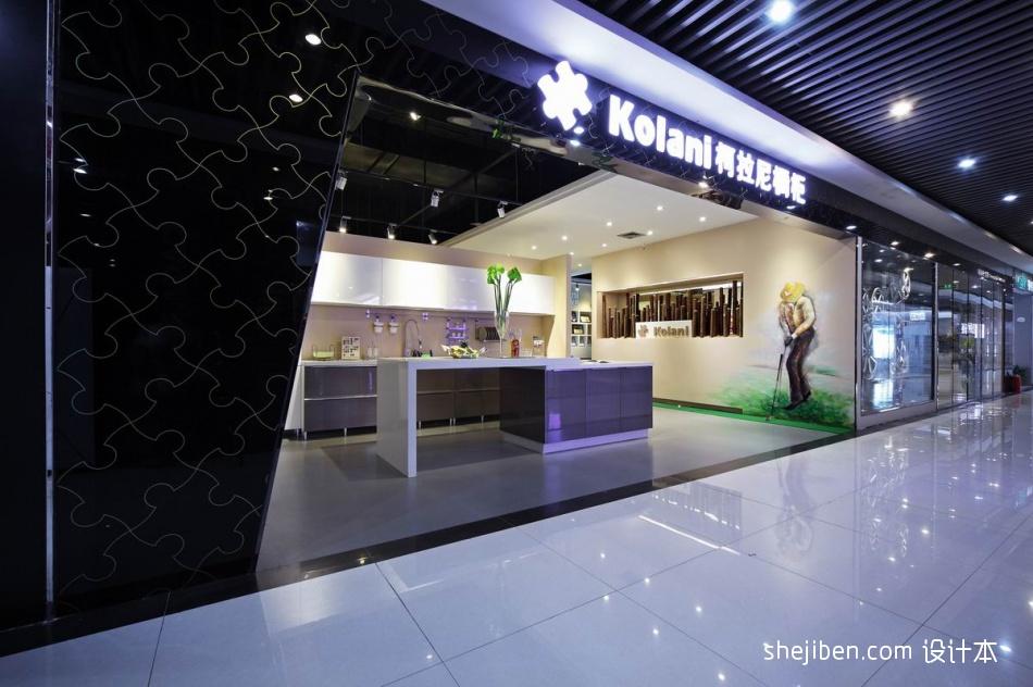 深圳橱柜专卖店2购物空间设计图片赏析