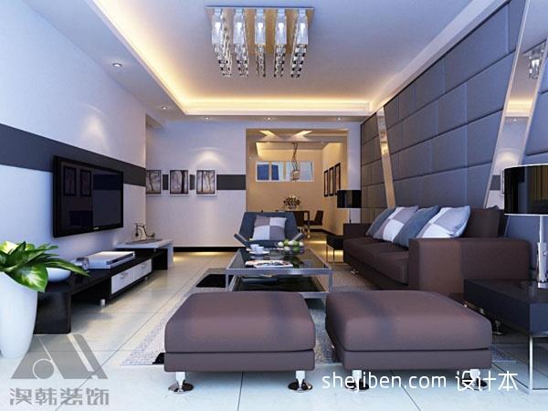 72.6平精美客厅混搭装修效果图客厅潮流混搭客厅设计图片赏析
