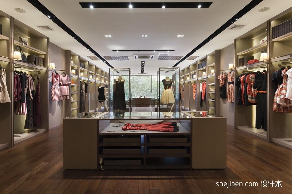 2013服装店面装修设计效果图设计图片赏析