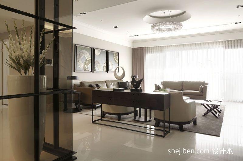 106平客厅三居混搭装饰图片客厅潮流混搭客厅设计图片赏析
