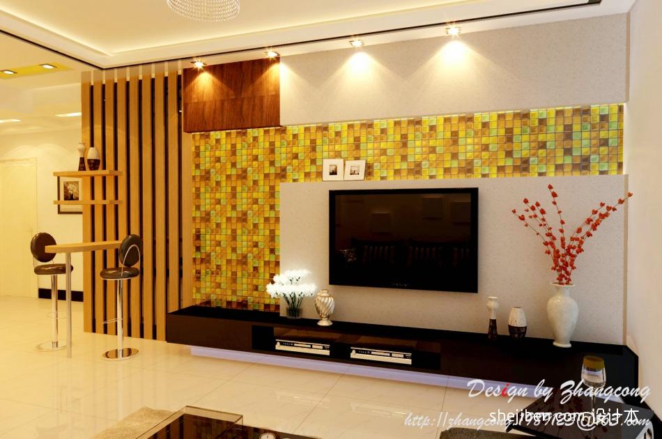 精美103平方三居客厅混搭装修欣赏图片大全潮流混搭设计图片赏析
