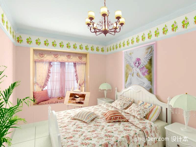 精美面积112平混搭四居卧室装修设计效果图片潮流混搭设计图片赏析