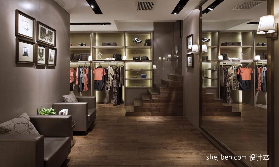 女服装店铺装修设计效果图设计图片赏析