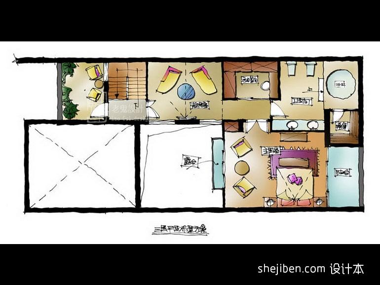 精美819平混搭别墅客厅效果图欣赏客厅潮流混搭客厅设计图片赏析