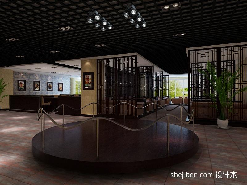散座区餐饮空间其他设计图片赏析