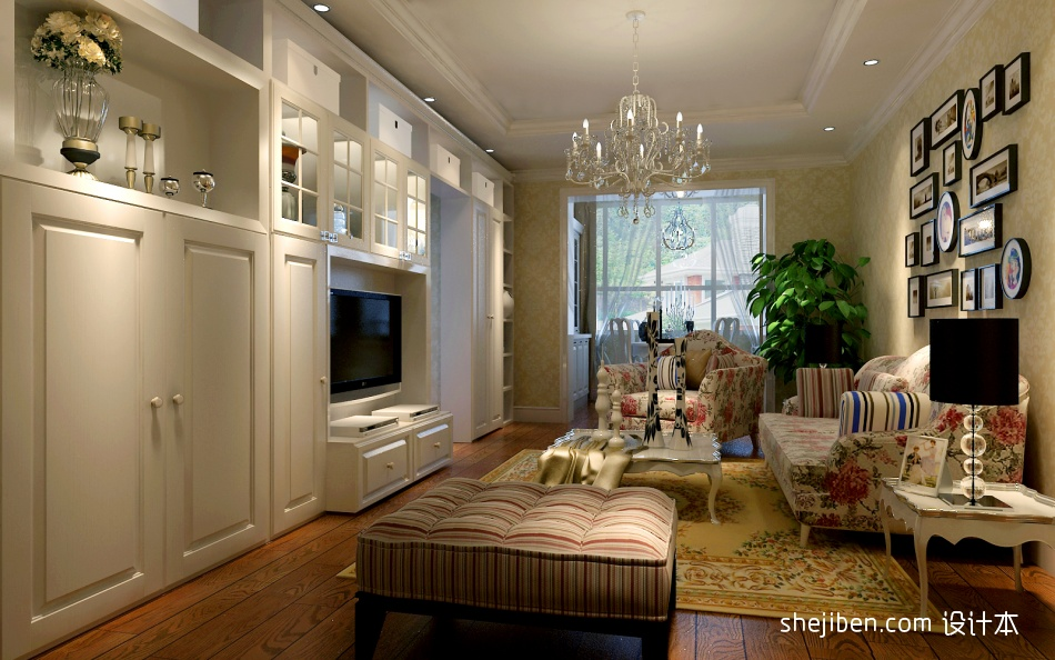 客厅效果客厅潮流混搭客厅设计图片赏析