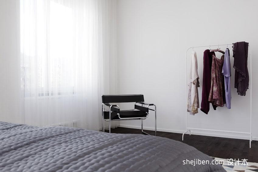 2018精选大小78平混搭二居卧室装修实景图片欣赏卧室潮流混搭卧室设计图片赏析