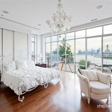 顶层复式装修效果图 复式楼女生卧室装修效果图