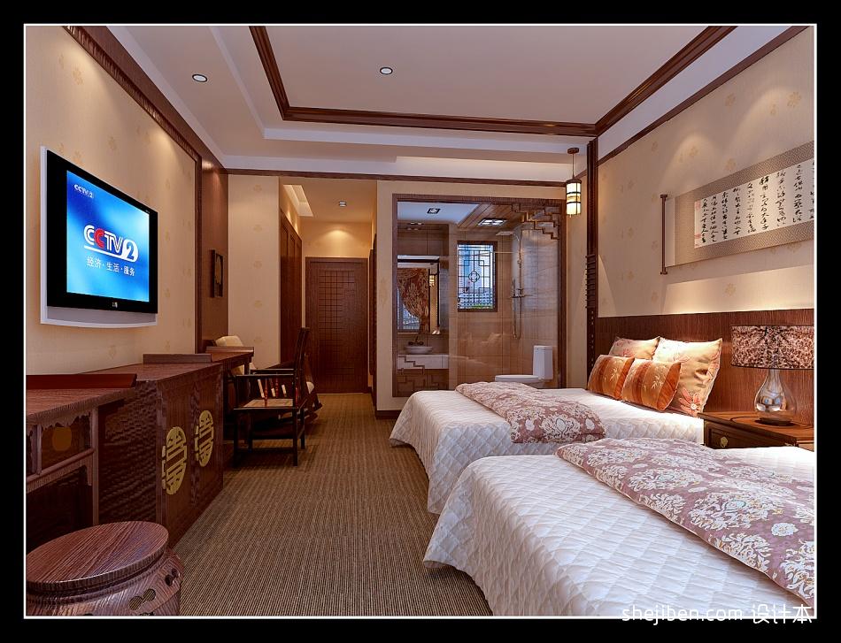 一楼客房标间样板二酒店空间其他设计图片赏析