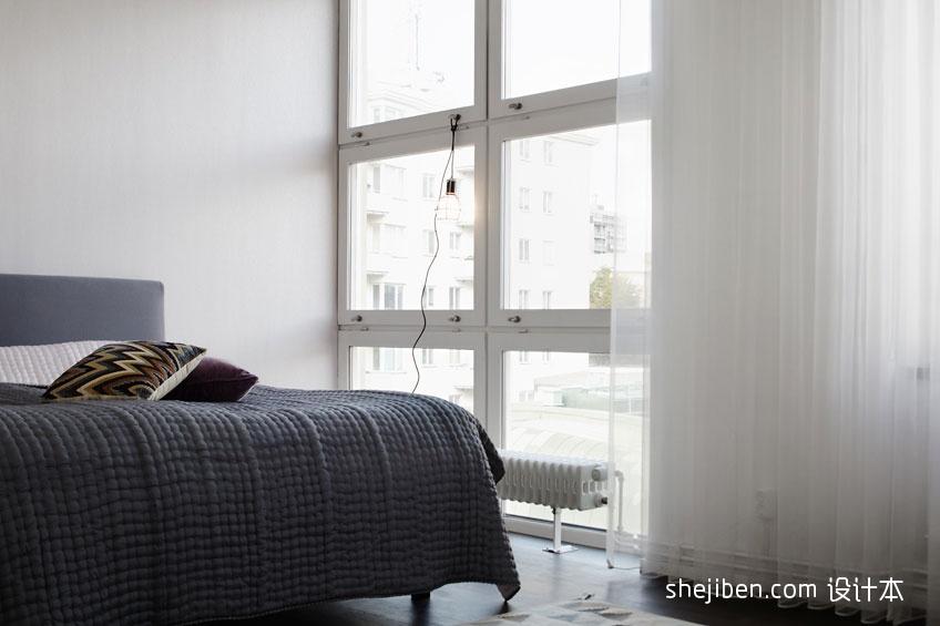 2018精选70平米二居卧室混搭效果图片大全卧室潮流混搭卧室设计图片赏析